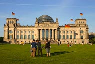 The Reichstag Palace in Berlin
