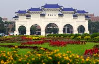 The Democracy Memorial (ex Chiang Kai-Shek memorial).