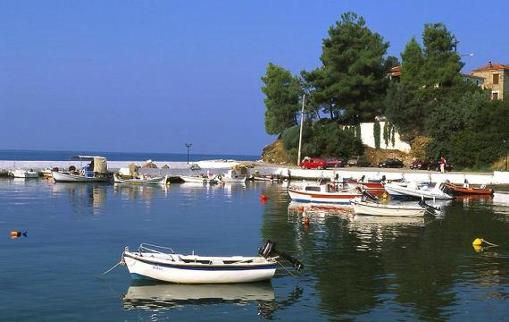 Afissos harbour, Greece