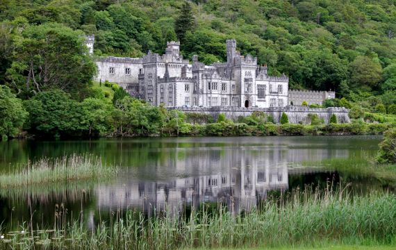 Kylemore Abbey, Connemara, Ireland, Ireland