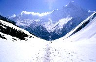 The Annapurna : The summit of Annapurna, Nepal - Nepal