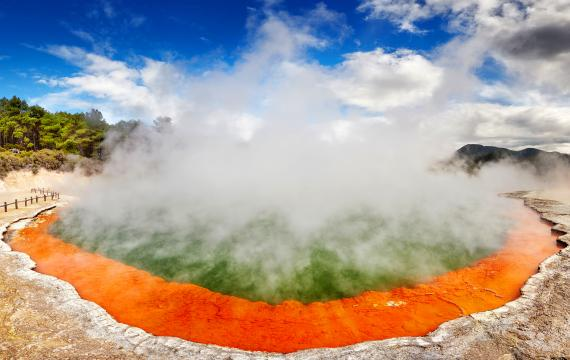 North Island - Spas : North Island - The thermal springs - New Zealand
