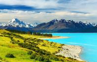 South Island - Mount Cook national park : South Island - Mount Cook National Park - New Zealand