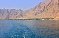 The Musandam peninsula