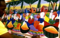 Naive art in the Dominican Republic