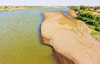 The banks of the Nile - Sudan