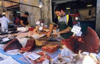 Fish markets in Sicily