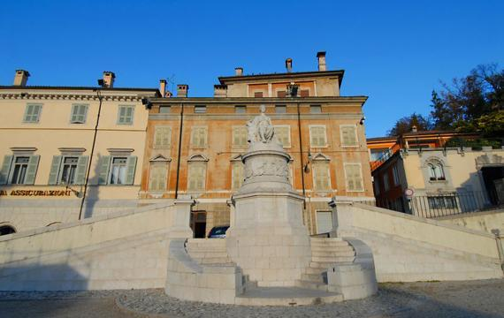 The Monumento Della Pace (Peace Monument)**, Italy
