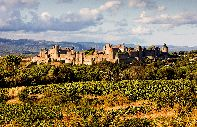 The fortified 'Cit� de Carcassonne'