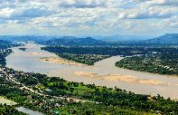 The Mekong plain