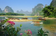 The Guilin Sugarloaf :  - China