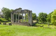 The Antic site of Apollonia : Apollonia, Albania - Albania