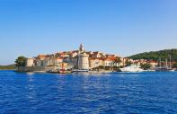 The island of Korkula, Croatia