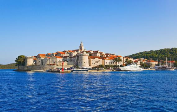 The island of Korkula, Croatia, Croatia