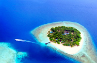 Maldives Islands Faafu Atoll