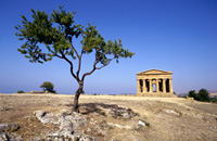 The southern coast of Sicily Agrigento e Licata