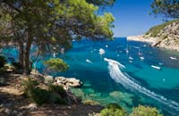 Spain Balearic Islands Ibiza, the bay