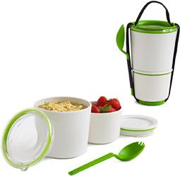 Stackable lunch pots