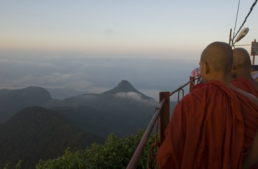 Mysticism up Adam's peak