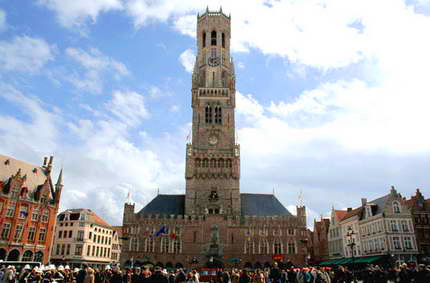 The Belfry and the Market Square