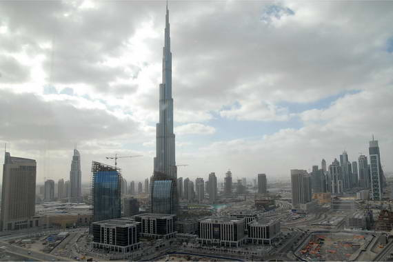 The world's eye - the Burj Khalifa