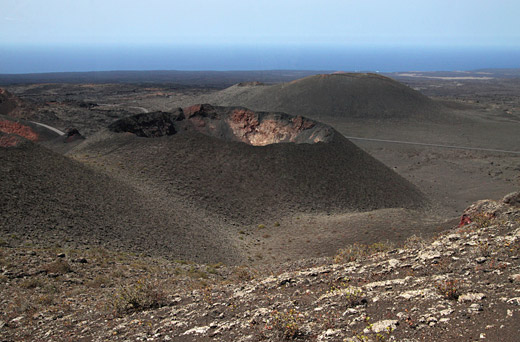 Moutains of fire, El Parque de Timanfaya