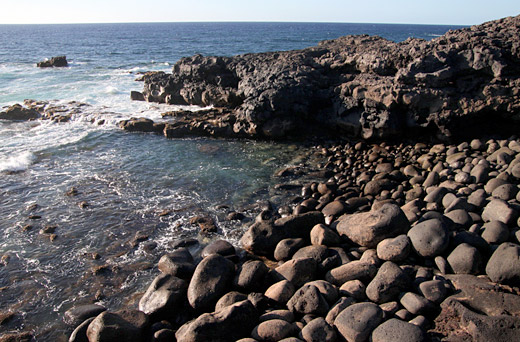 Black beaches of El Golfo