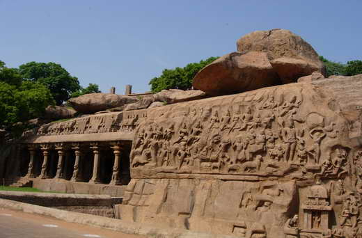 Mahabalipuram - an archaeological celebrity