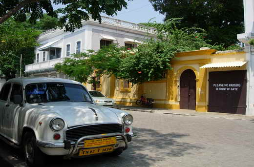 Pondichery: the town of nostalgia