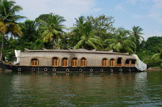 A Rice Boat cruise in the backwaters