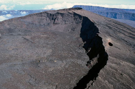 In search of the Piton de la Fournaise