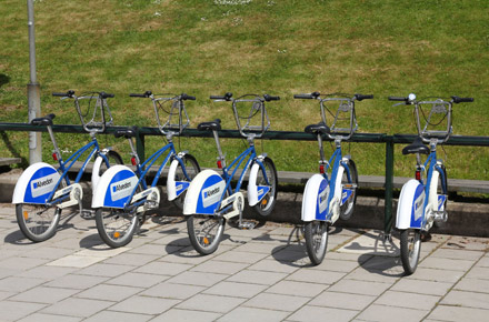 Bike share schemes