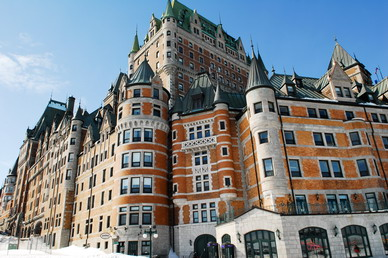 The most photographed le chateau frontenac quebec for Hotel design quebec